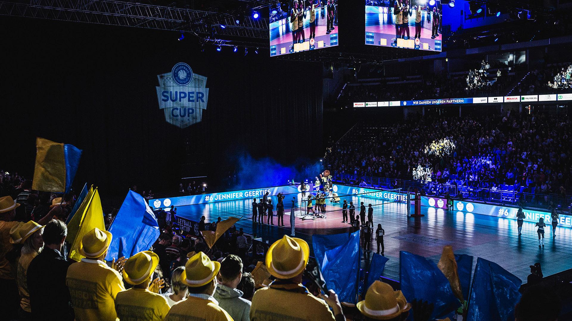 Supercup in Hannover war großartiges Volleyballerlebnis
