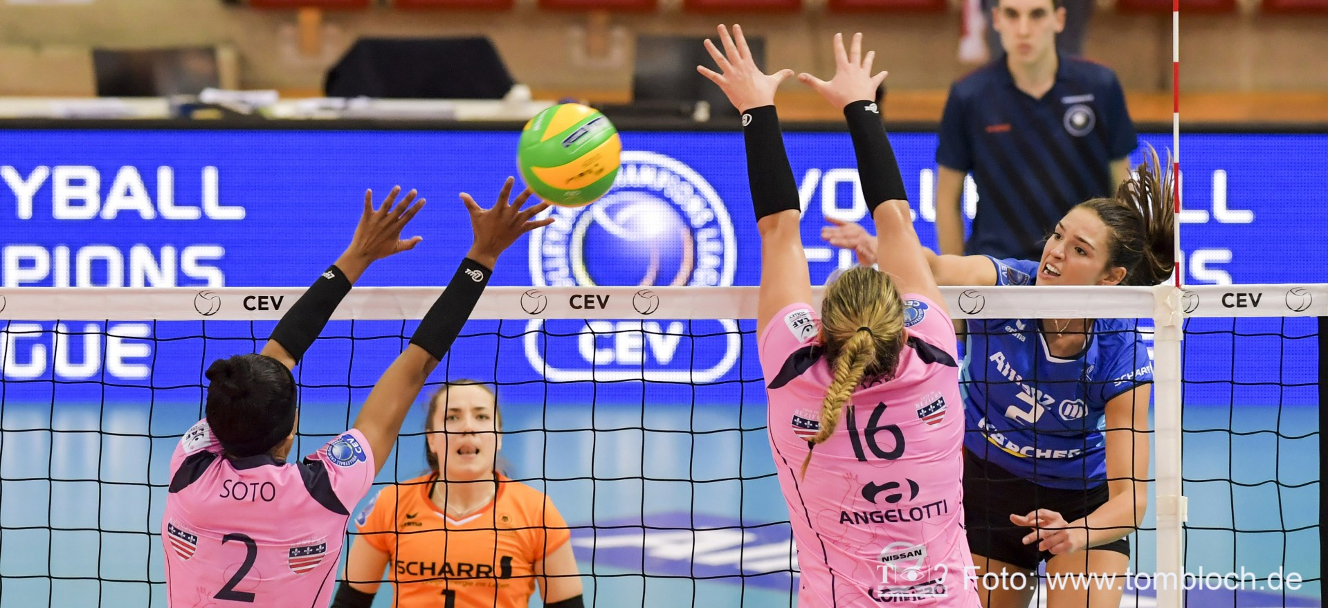 Wednesday, January 23: 2019 CEV Volleyball Champions League ...