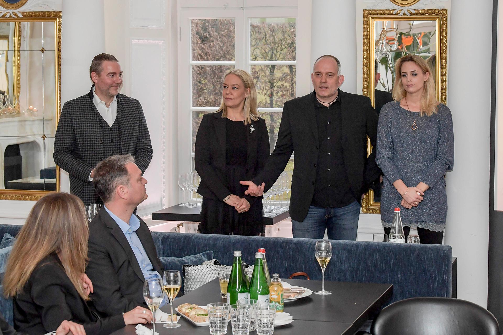 Sponsorentreffen in der Speisemeisterei im Schloss Hohenheim