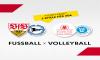 Fußball x Volleyball - 2 Spiele: 40 Euro